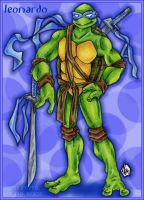 TMNT - Leonardo by StephRatte