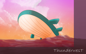 Wailord by Thunderwest