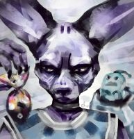 Beerus and Fishes by jedera01