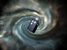 Jump In Time - Doctor Who Wallpaper by xSkULLFR