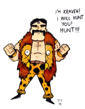 Kraven the Hunter by John Yuan by TheYuanTwins