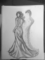 Straight From the Sketchbook: Dress Flow by JWatson