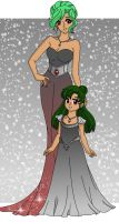 Pluto - Queen and Princess by Sailor-Serenity