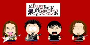 Bullet For My Valentine - SP by Sam-x-Frank