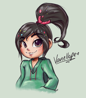 Vanellope by RequestFag