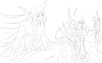 Omen 01 lineart by kanogt