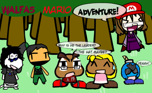 Walfas Mario ADVENTURE! (Parody of Paper Mario) by SuperMario1550