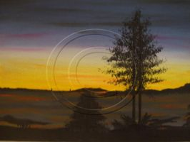 Landscape 1 Painting by Tigerlova187