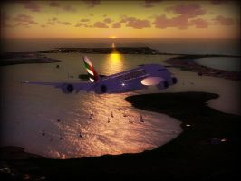 FSX - Taking off in Koh Tao by TomsPics