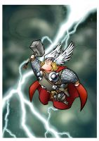 The mighty Thor by pedroobarreto