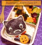 Halloween Kitten Luvs U by Natakiya