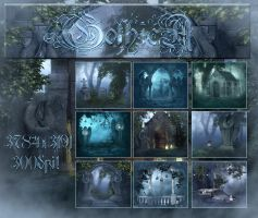 GothicA Backgrounds by moonchild-ljilja