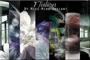 7 pack of Textures by Vee-Deviant