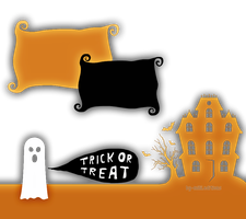 Textura PNG Halloween Trick or Treat by By-Milii