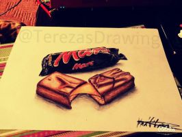 Mars Bars by TerezasDrawing