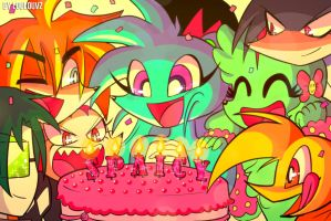 Happy Birthday Spaicy! by LoulouVZ