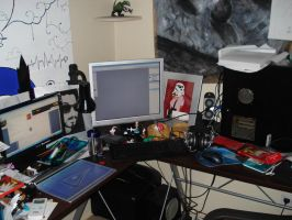 Workstation by captain-redbeard