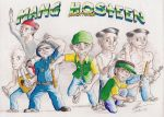 Mang Hosteen action squad by KingOfShu