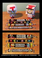 Turbo and others videogames characters Bracelets by Turbotastique