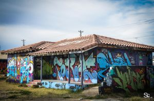 Grafitti House In Vegas by ShannonCPhotography