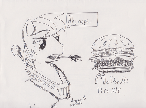 The Two Big Macs by PyrodianBrony