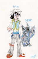 WEWY NPC: Brian and Gear by bluecrysto