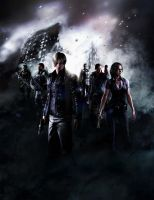 Resident Evil 6 art by heatheryingNL