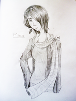 Sketch comm: Mina C. by Liittlemadness
