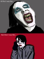 Marilyn Manson: Then and Now by Scarefish