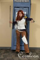 Doctor Who Photoshoot: Old Amy Pond by StrangeStuffStudios