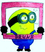 Minion Expression #21 by InkArtWriter