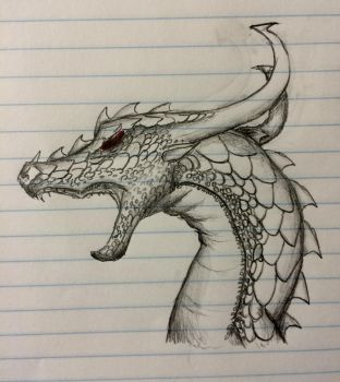 Untitled Dragon by Hydrawings