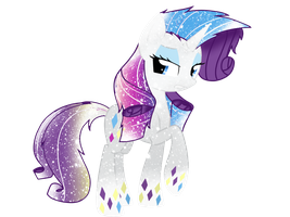 Galaxy Rainbowfied Rarity by DigiTeku