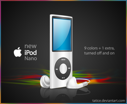 new iPod nano by tatice