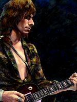 Jeff Beck by MudLobster