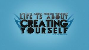 Creating Yourself Typo Wall by natosaurus
