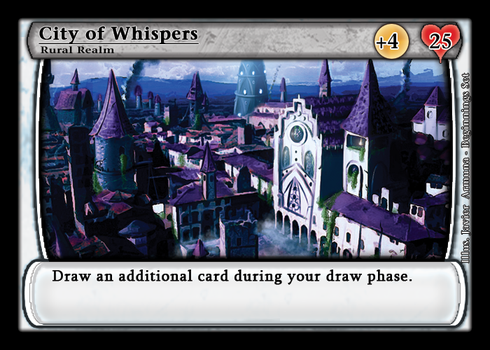 Realms CCG - City of Whispers by GTHunt