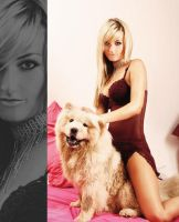 Chrysa and her dog Chanel by styliano