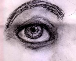 another realistic eye attempt by TumultOfTheCat