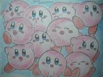 10 Kirbies??? XD by dengekipororo