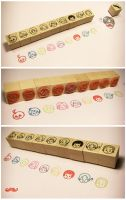 Rubber Stamps by workparty