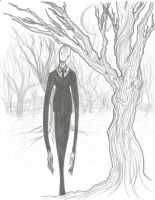 Day Thirteen - The Slender Man by ChillyAcademicIV