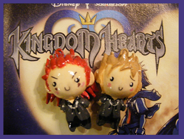 Chibi-Charms: Axel and Demyx by MandyPandaa