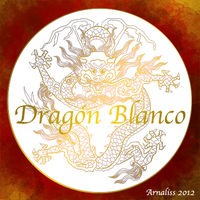 Dragon Blanco wishes HAPPY NEW YEAR OF DRAGON by Arnaliss