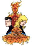 Illustrious Bits Week 40: The Fantastic Four by RichBernatovech