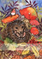 ACEO Fall Roll by JoannaBromley