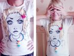 T-shirt by iwobella