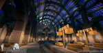 Train station interior by EpicOnline