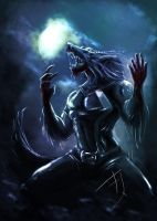 werewolf by Betacarrier