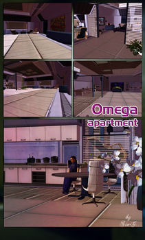 Mass Effect: Omega apartment (Scene for XnaLara) by Sia-G